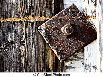 Close up door latch