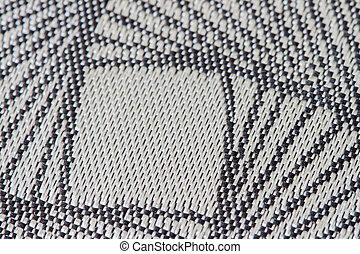Close-up fabric texture background, With part of the pattern with copy space for text or image.