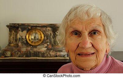 female senior citizen
