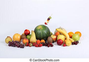 close-up, fruta