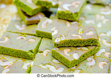 green tea brownie
