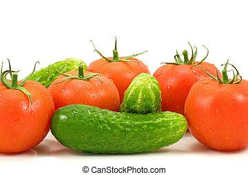 close-up, groentes