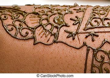 Close Up Henna