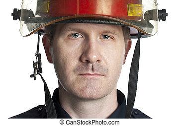 handsome firefighter