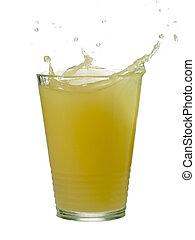 lemonade with a splash