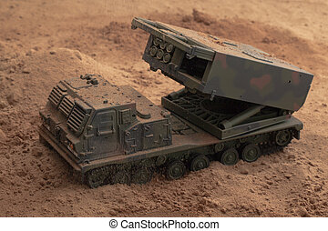 military toy truck