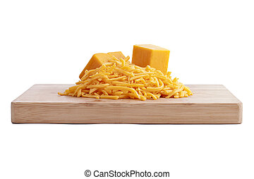 cheddar cheese wooden plate
