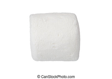 close up image of fluffy mallow