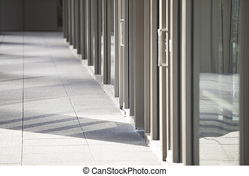 close up image of hallway