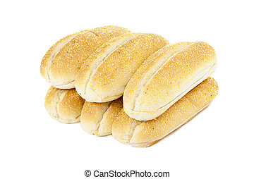 six pieces of bread