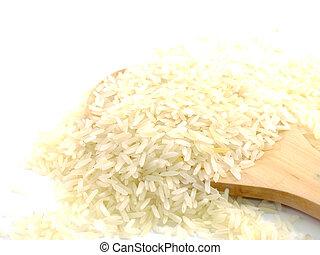 close up jusmin rice