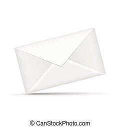 close up look at envelope