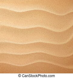close-up look at sand pattern