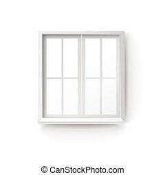 close up look at window