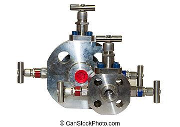Close up manual valve