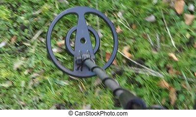 close up metal detector - close up of a metal detector...