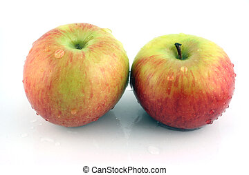 Close up of 2 Apples
