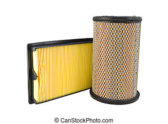 Close-up of a air filter