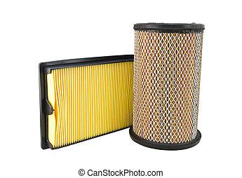 Close-up of a air filter