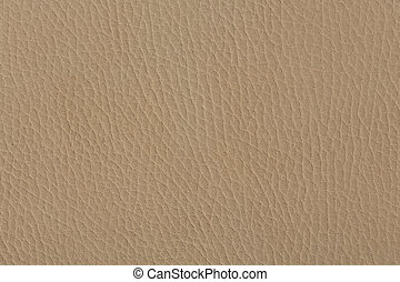 Close up of a beige leather texture.
