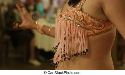 Close Up Of A Belly Dancer