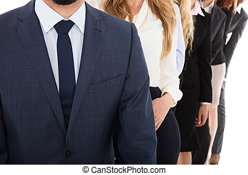 Close-up Of A Businessman
