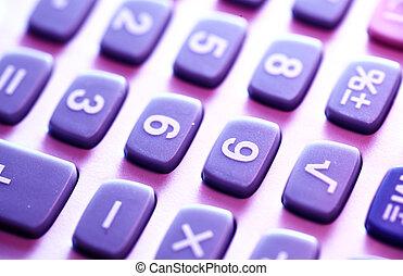 Calculator - Close up of a Calculator