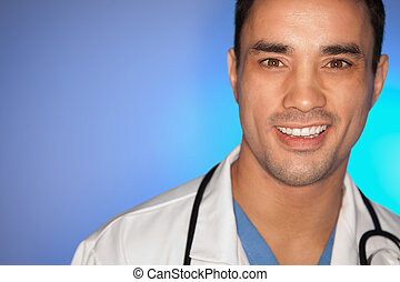 Close up of a doctor
