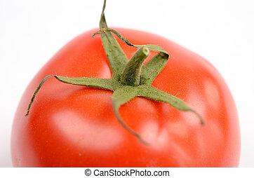 Close up of a fresh tomato