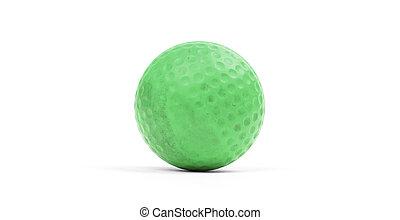 Close-up of a golf ball