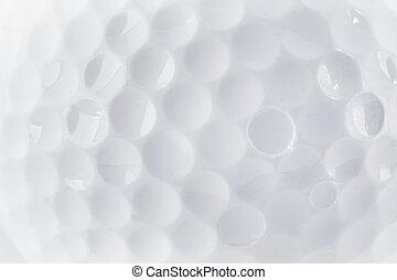 CLose up of a Golf Ball texture