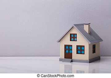 Close-up Of A House Model