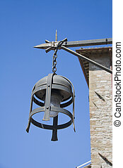 Close up of a lantern. Assisi. Umbria.