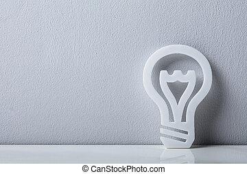 Close-up Of A Light Bulb