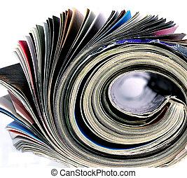 magazine - close up of a magazine