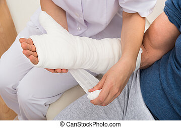Plaster cast Images and Stock Photos  3,163 Plaster cast