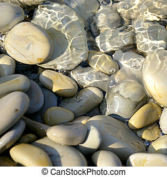 Close up of a pebbles usefull as background