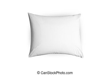 close up of a pillow isolated