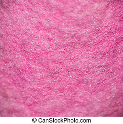 Close up of a pink kitchen rag