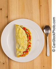 stuffed omelette
