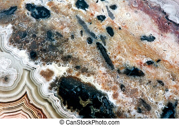 Close-up of a polished stone