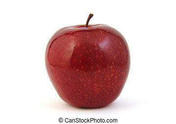 Close-up of a red Apple
