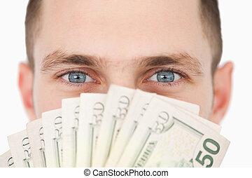 Close up of a rich businessman