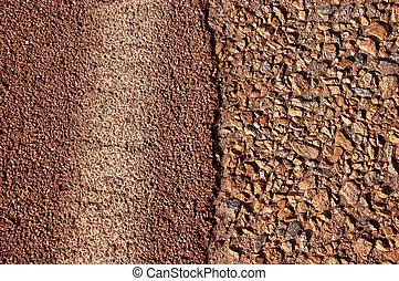 close up of a road