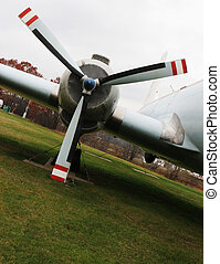 Royal Canadian Air Force aircraft - Close-up of a Royal...