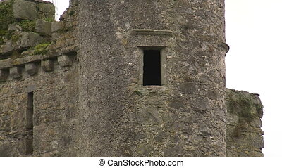 Close up of a small window of an old fort - Close up of a...