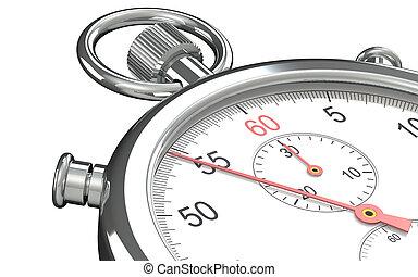 Stopwatch. - Close up of a Stopwatch.