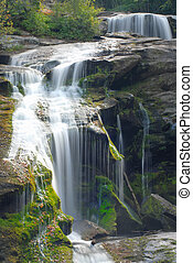 Close up of a waterfall in tennessee - Close up of a...