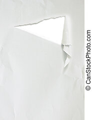 white ripped piece