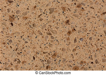 Close up of abstract beige artificial texture.